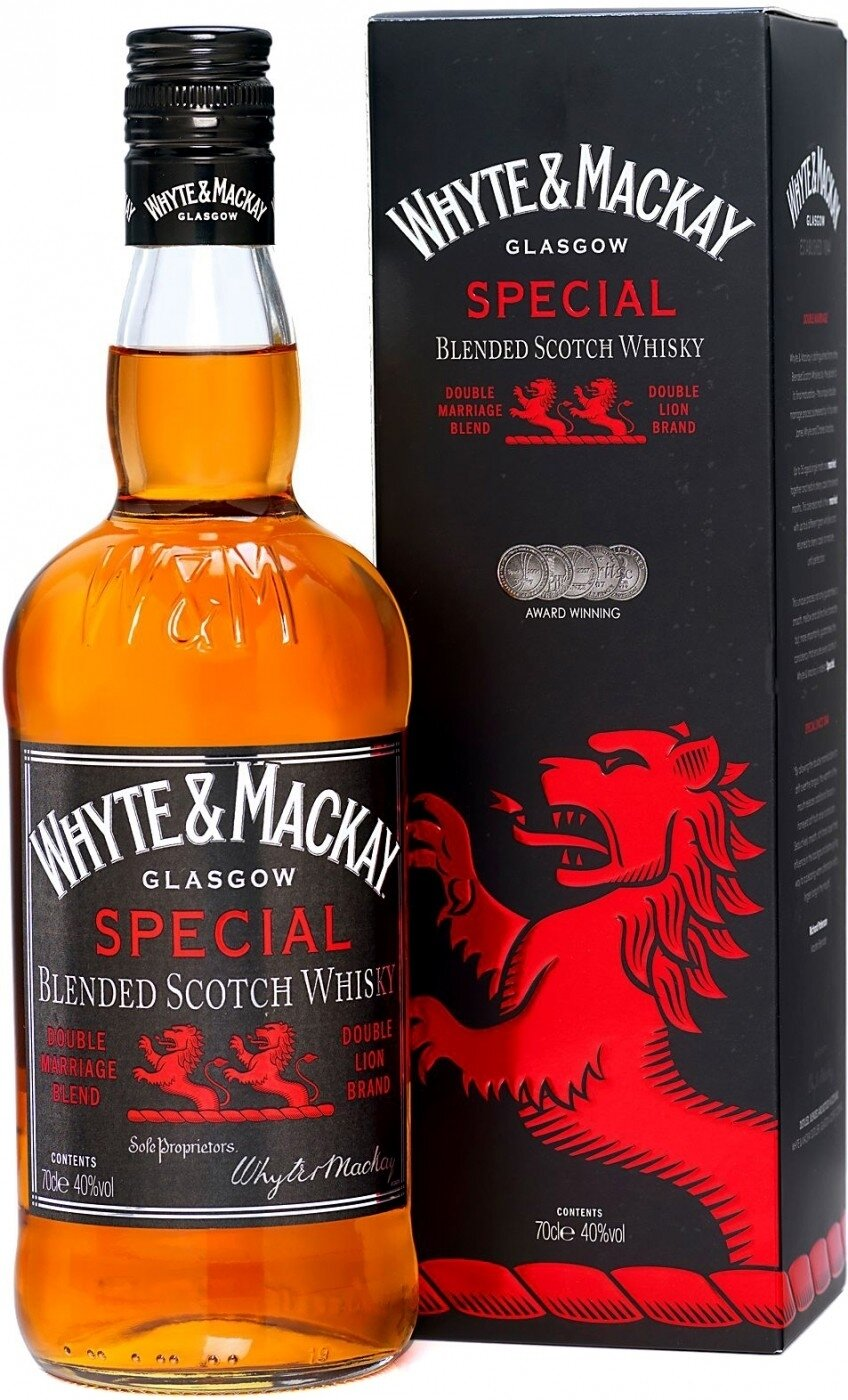 Whisky Whyte and mackay special x700cc