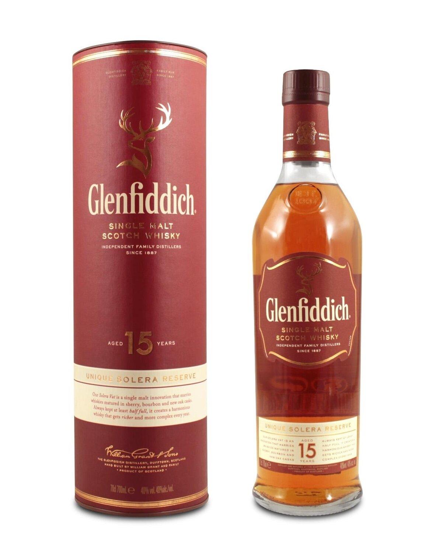 Whisky Glenfiddich 15 a x750cc