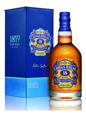 Whisky Chivas 18 a yo x750cc