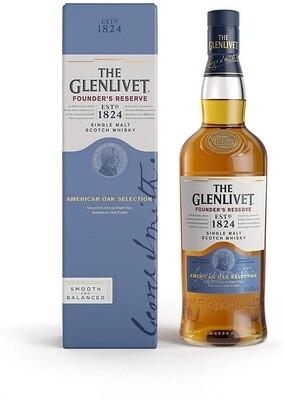 Whisky The glenlivet found rve. x750cc