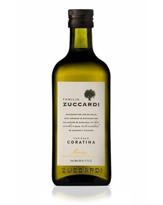 Aceite de oliva Zuccardi Coratina x500cc