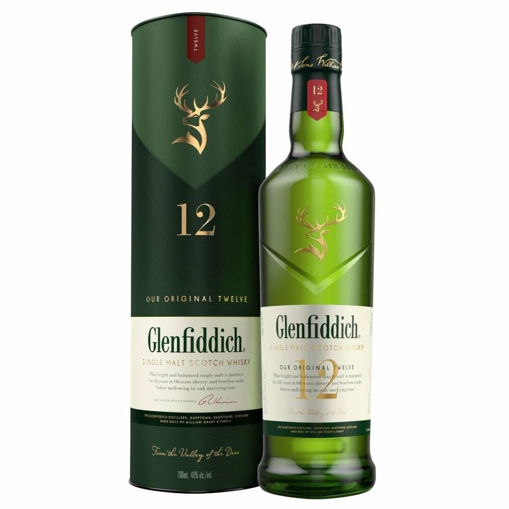 Whisky Glenfiddich 12 a x750cc