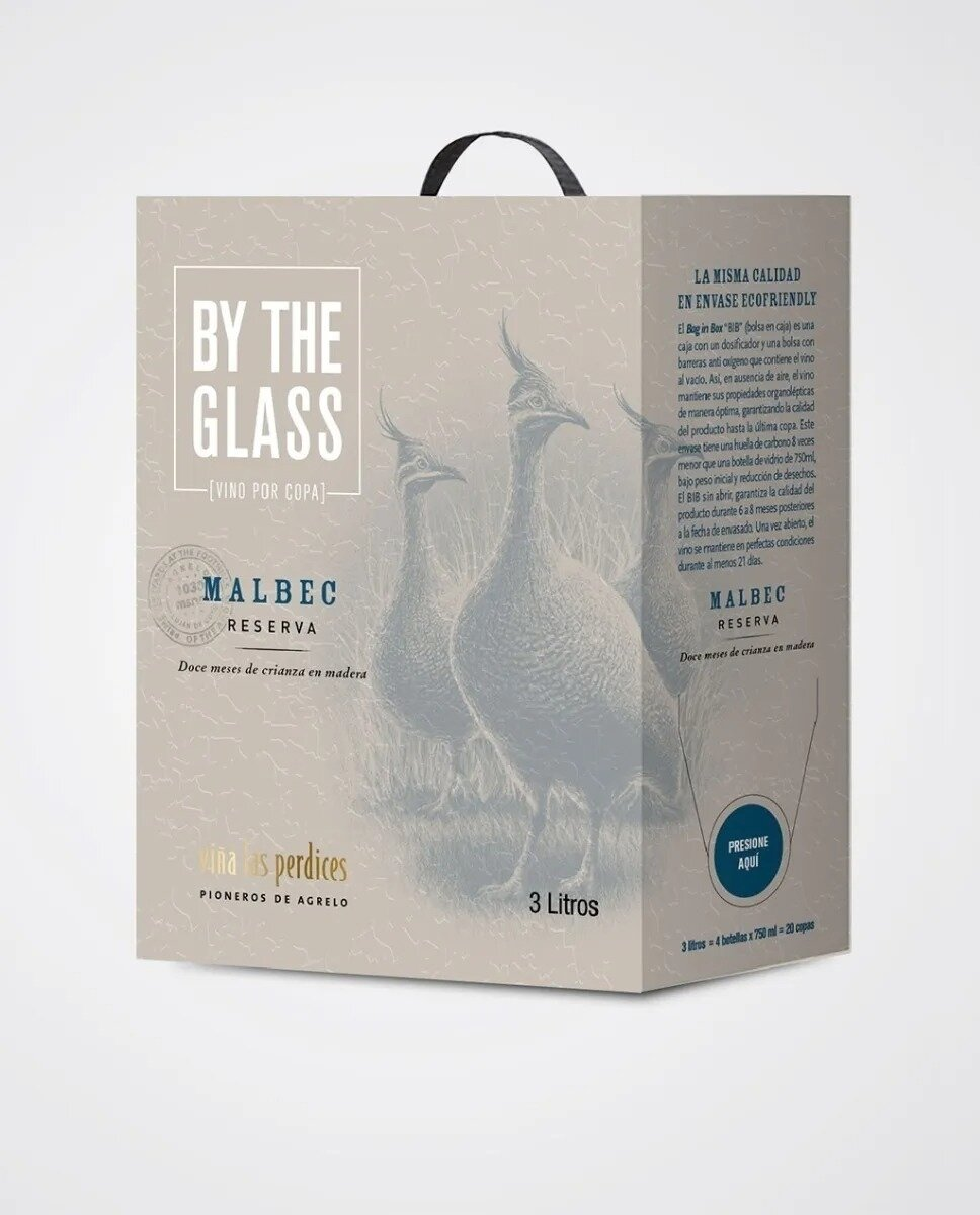 Vino Tinto Las perdices bag in box malbec x3000cc