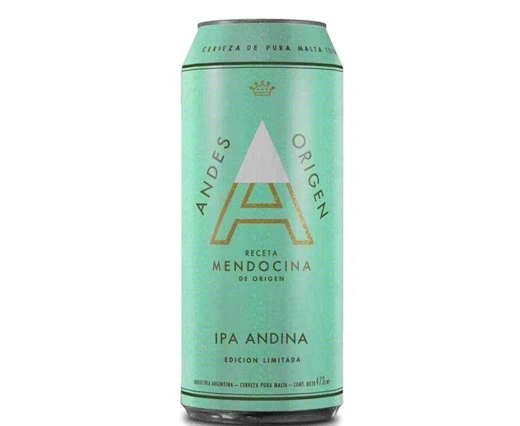 Cerveza Andes Origen Ipa  x500cc