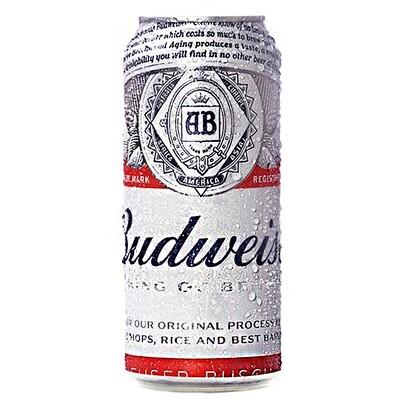 Cerveza Budweiser Lata x500cc