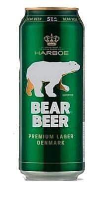 Cerveza Bear Beer Lager LT x500cc