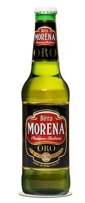Cerveza Birra Morena Oro x330cc