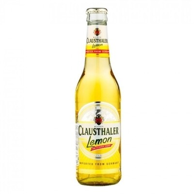Cerveza Clausthaler Sin Alcohol Lemon x330cc