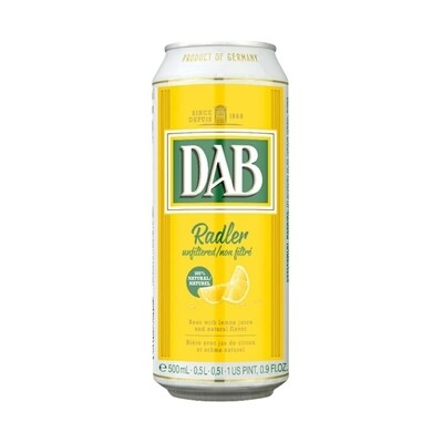 Cerveza DAB Radler Lata x500cc