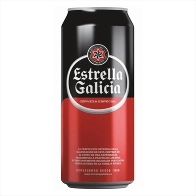 Cerveza Estrella De Galicia Lata x500cc