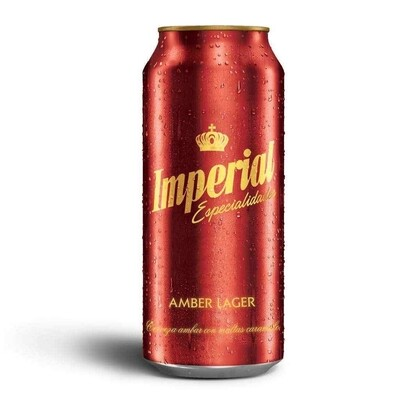 Cerveza Imperial Amber Lager Lata x473cc