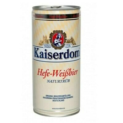 Cerveza Kaiserdom Hefe-Weibbier x1L