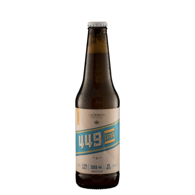 Cerveza Okcidenta 449 Ipa  x355ml
