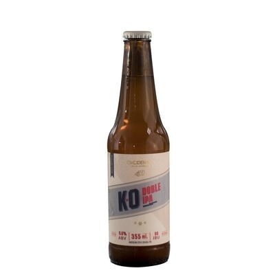 Cerveza Okcidenta K.O. Doble Ipa  x335ml