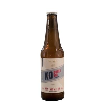 Cerveza Okcidenta K.O. Doble Ipa  x335ml