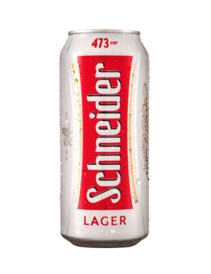 Cerveza Schneider Lager Lata x473cc