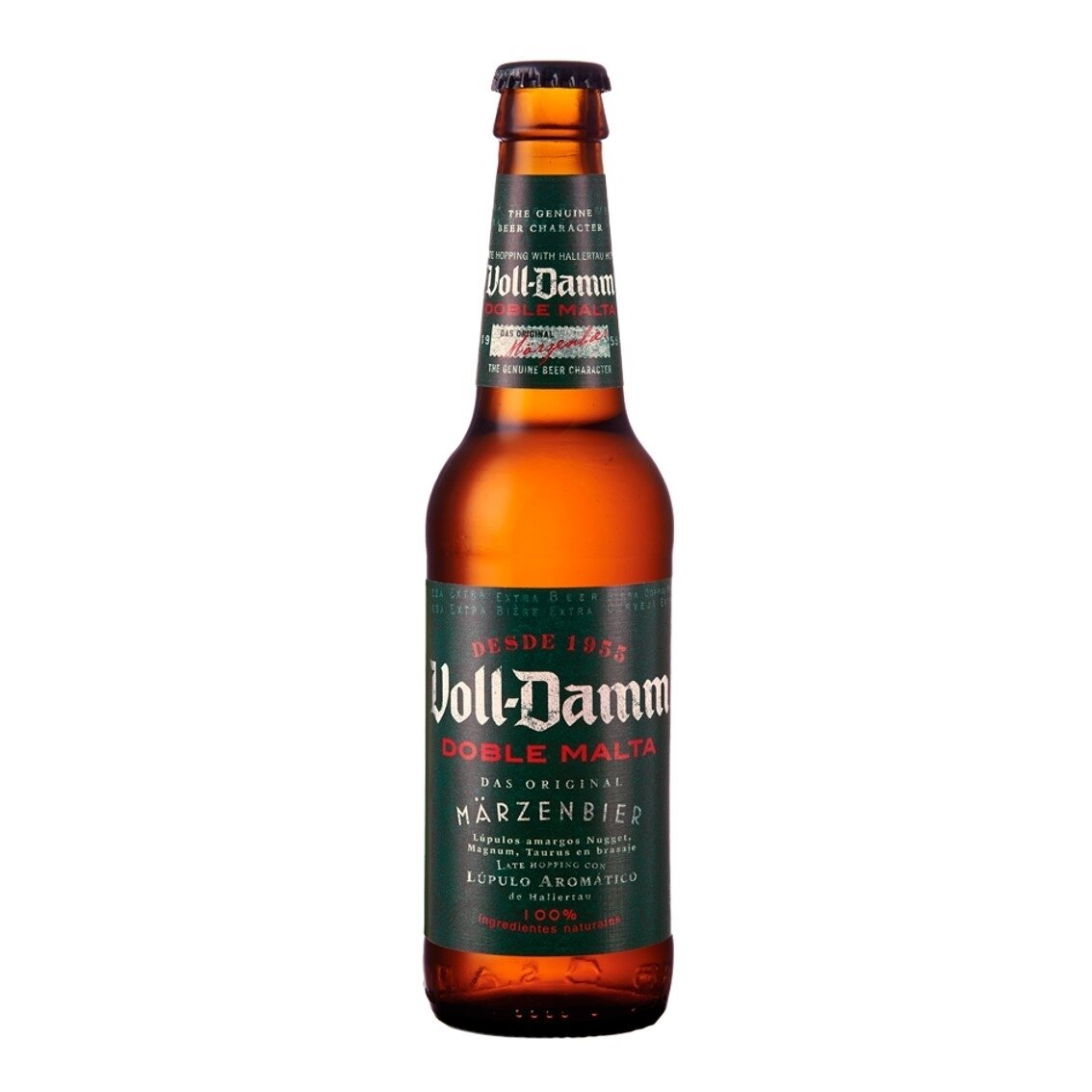 Cerveza Estrella Voll Damm Botella x330cc