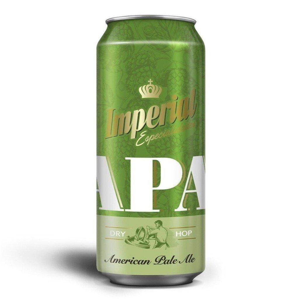 Cerveza Imperial Apa Lata x473cc