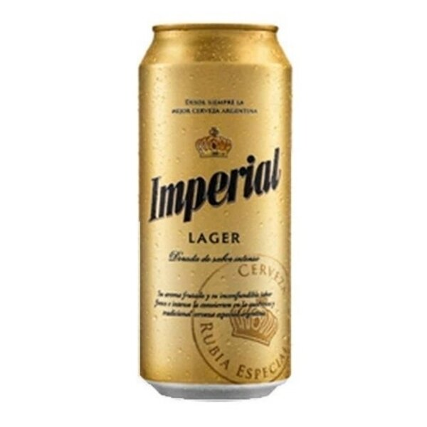 Cerveza Imperial Lager LT x473cc