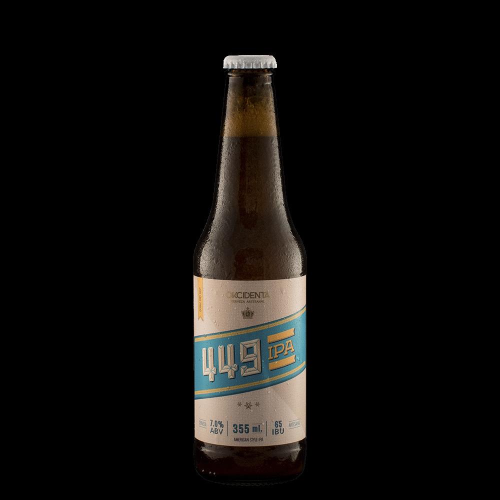 Cerveza Okcidenta 449 Ipa  x355ml