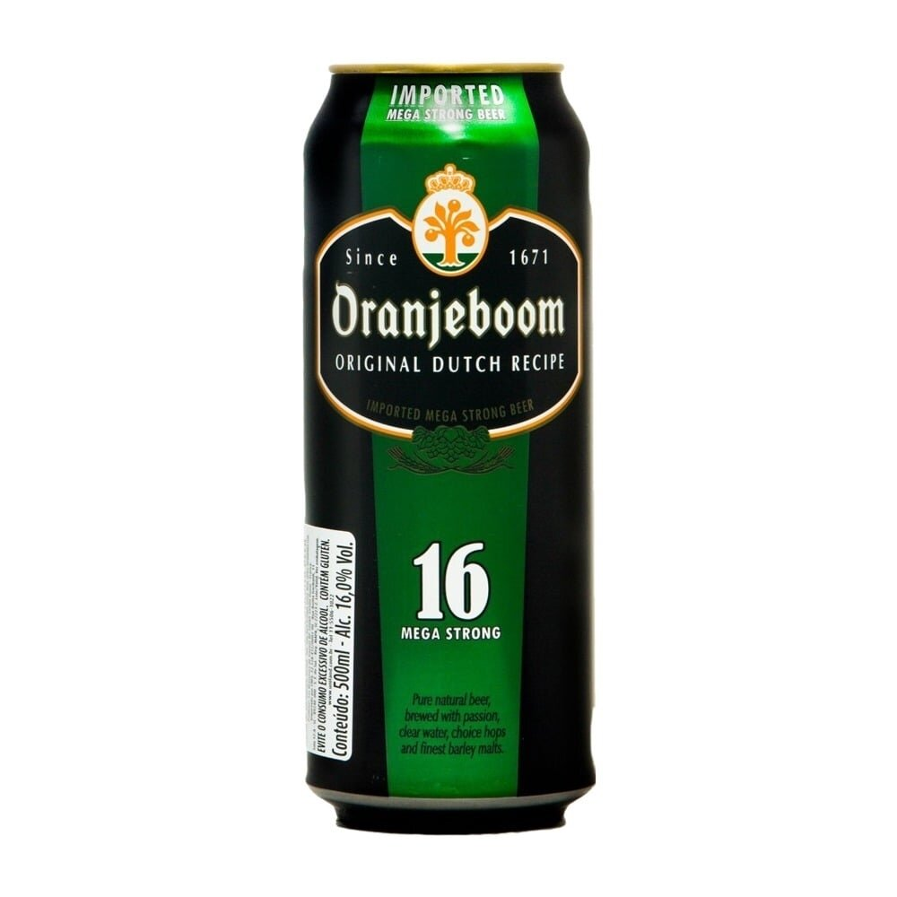 Cerveza Oranjeboom Mega Strong 16 LT x500cc