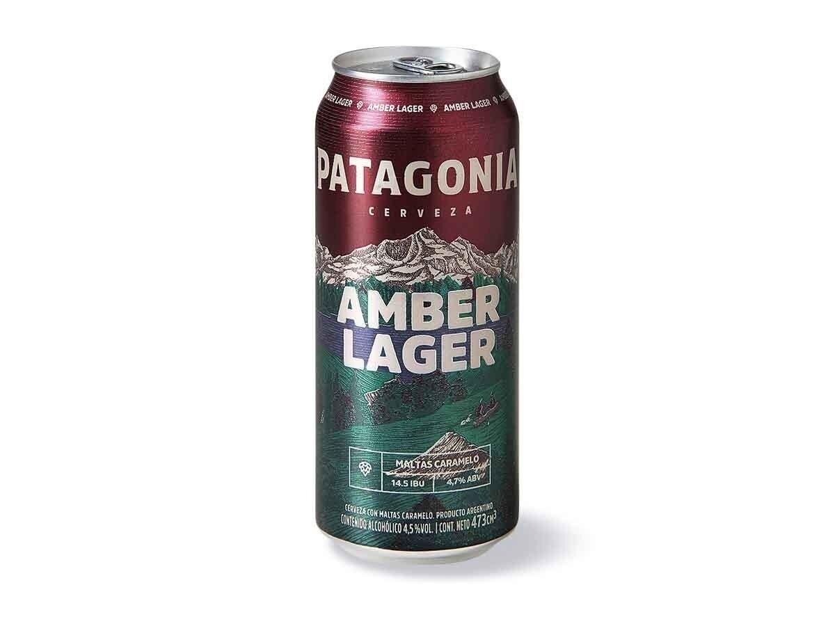 Cerveza Patagonia Amber Lata x500cc