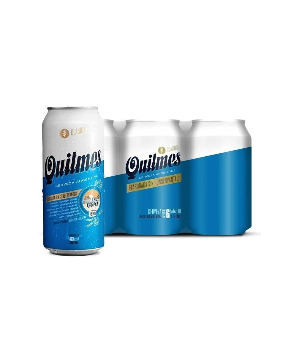 Cerveza Quilmes Lata x473cc