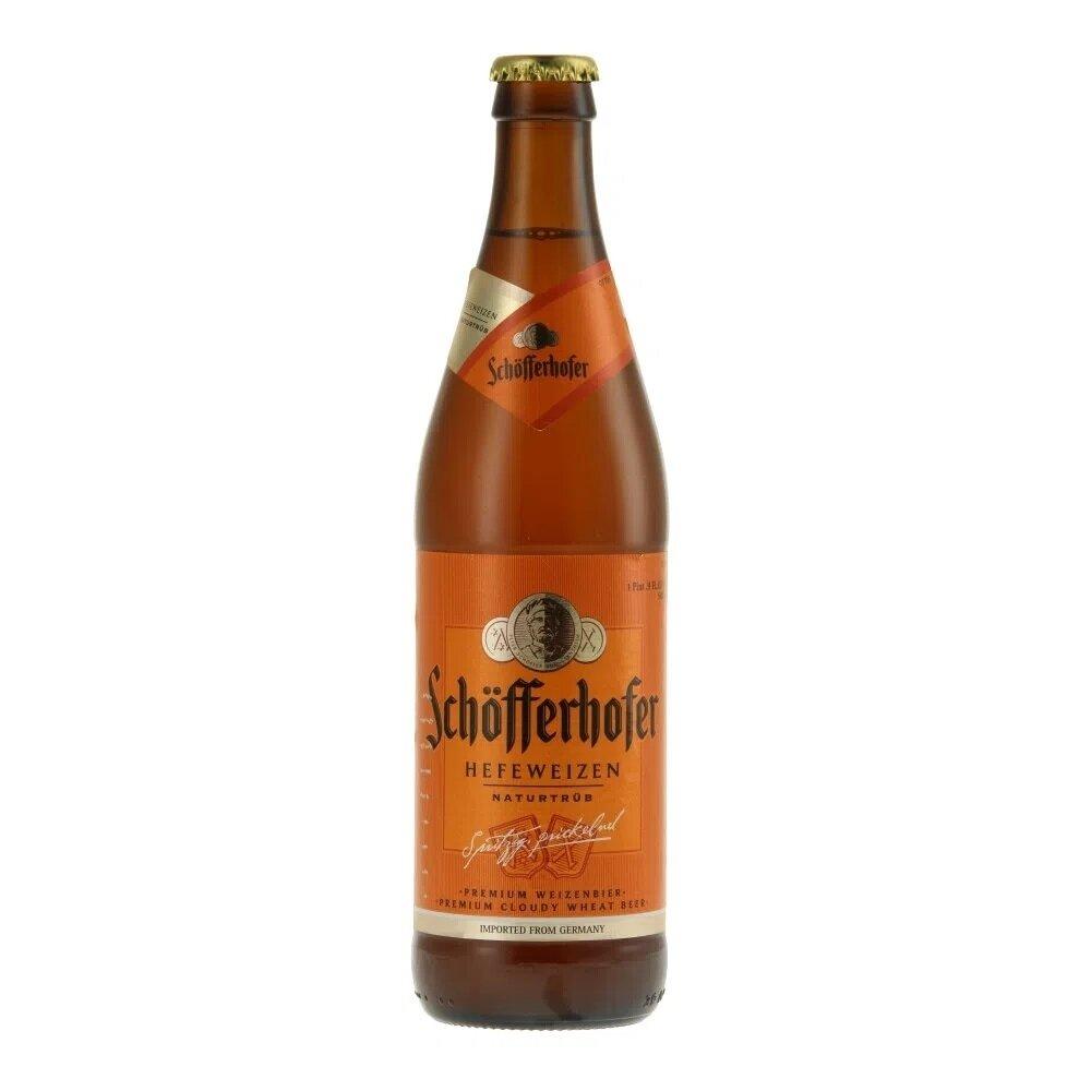 Cerveza Schofferhofer Botella. x500cc