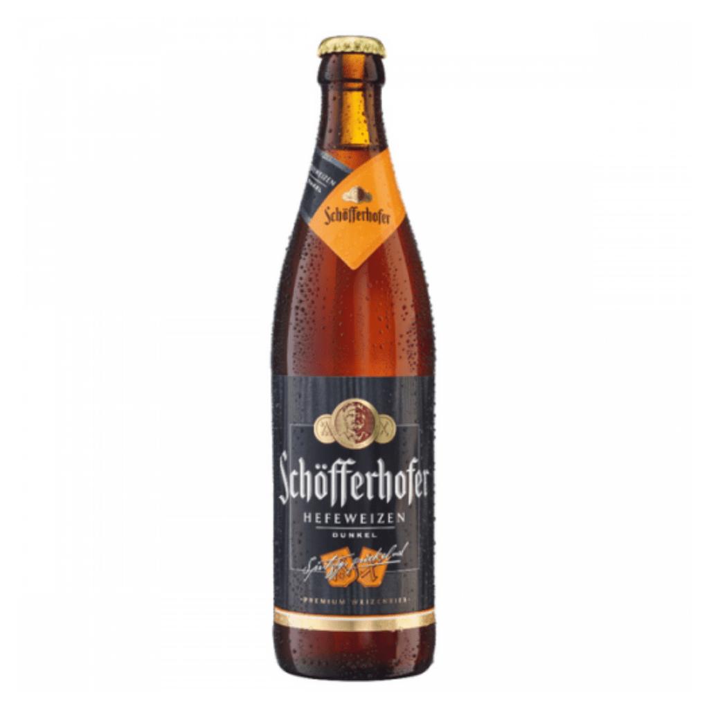 Cerveza Schofferhofer Dunkel Botella. x500cc
