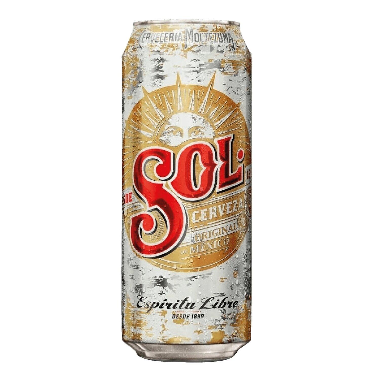 Cerveza SOL Rubia Lata x473cc