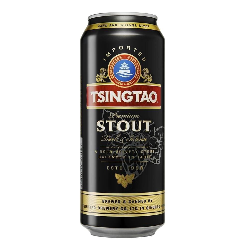 Cerveza Tsingtao Stout LT x500cc