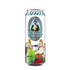Cerveza Weidmann Hefeweiss Rubia LT x500cc