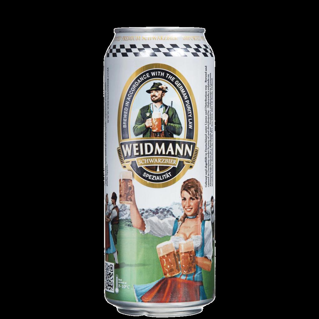 Cerveza Weidmann Schwarzbier Negra Lata x500cc