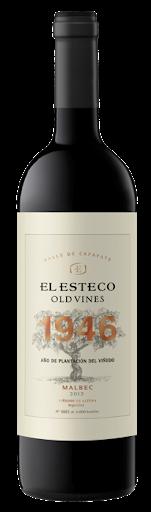 Vino Tinto El esteco old vines malbec x750cc