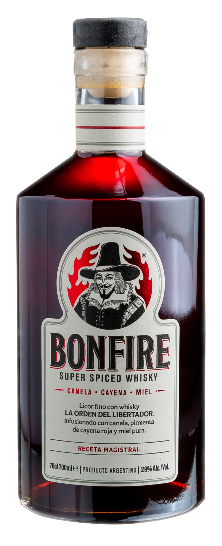 Licor de whisky bonfire 700cc