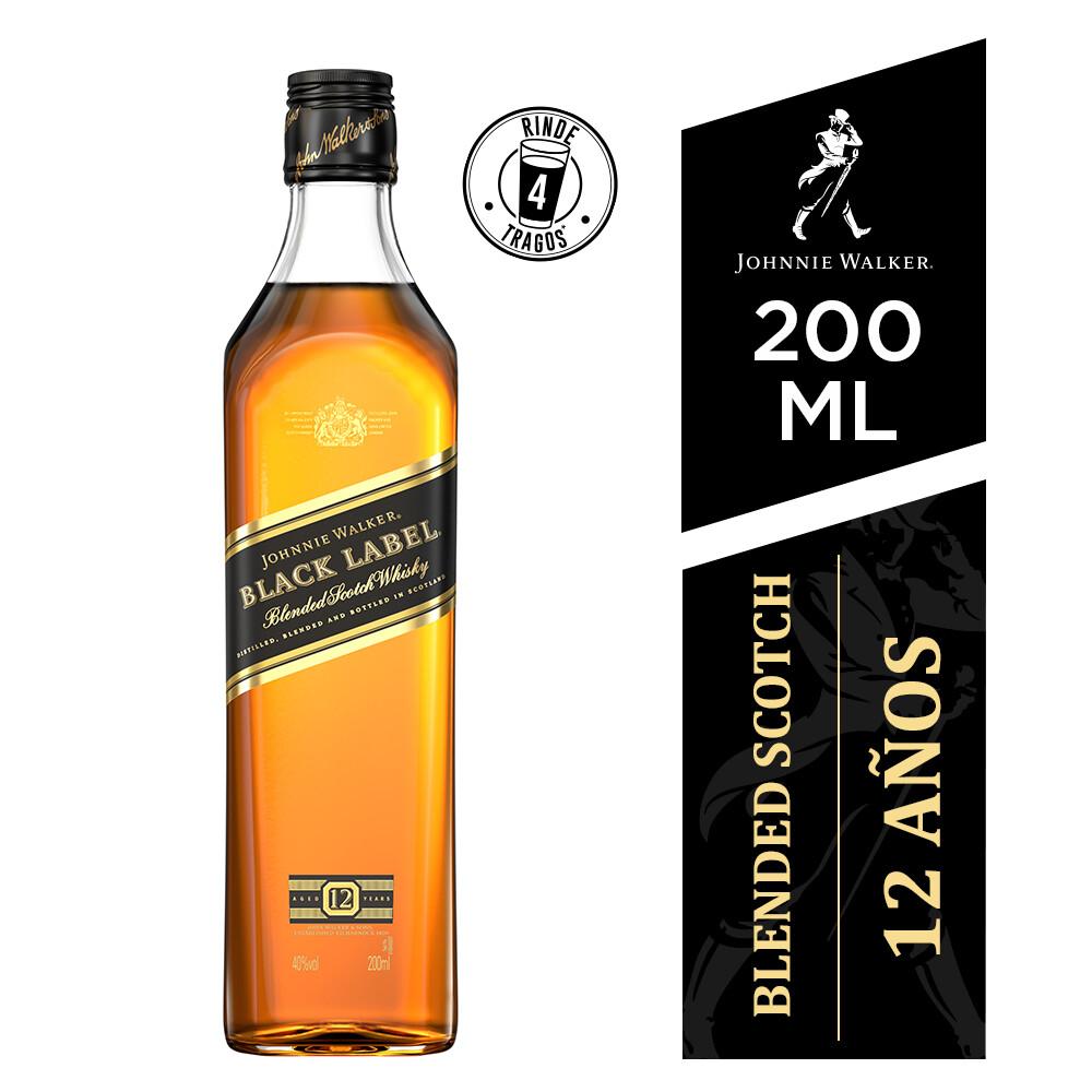 Whisky Johnnie walker black label x200cc