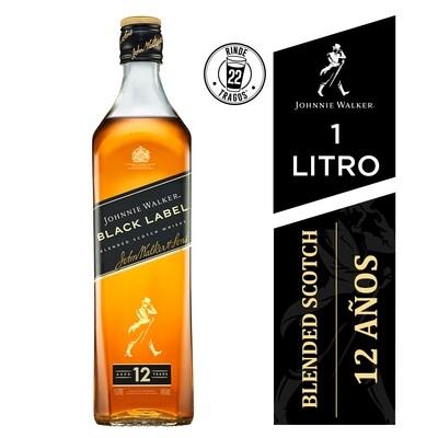 Whisky Johnnie walker black label x1000cc