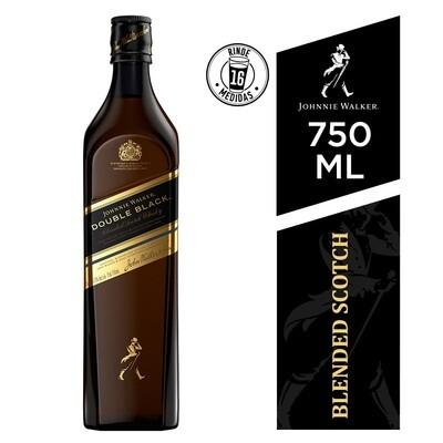 Whisky Johnnie walker double black x750cc