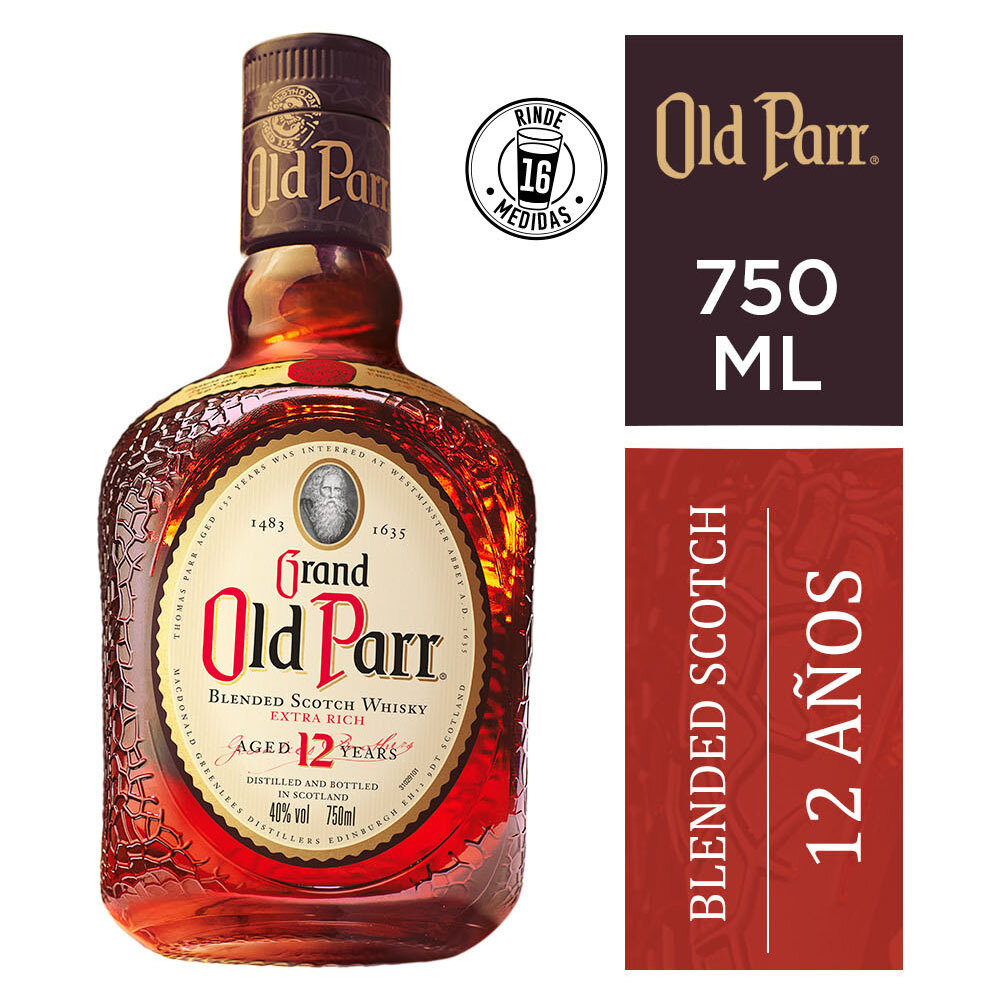 Whisky Old parr deluxe x750cc