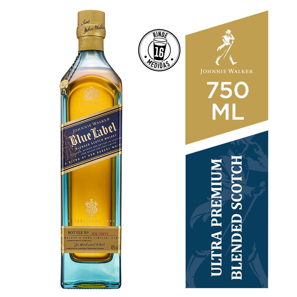 Whisky Johnnie walker blue label x750cc