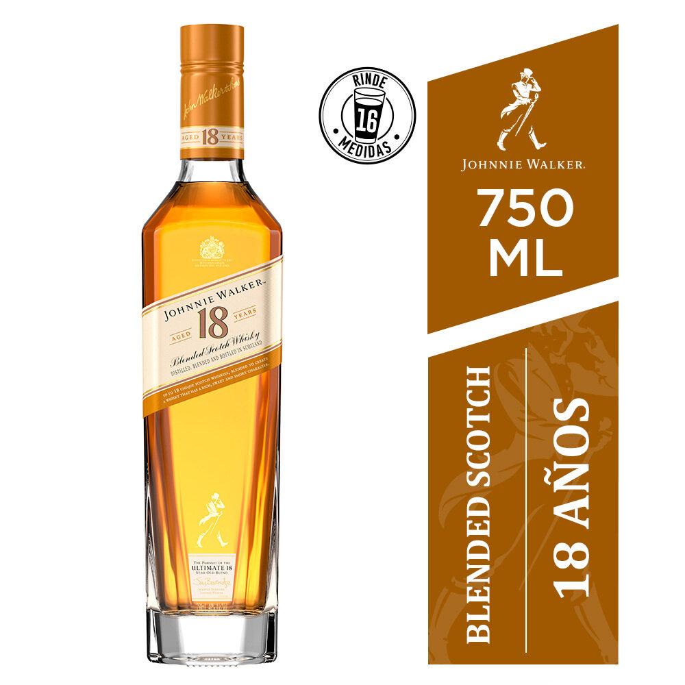 Whisky Johnnie walker 18 a x750cc