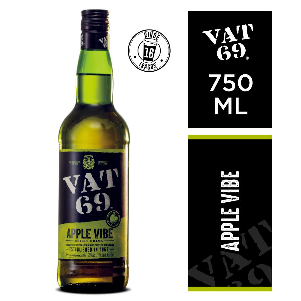 Whisky Vat 69 apple vibe x750cc