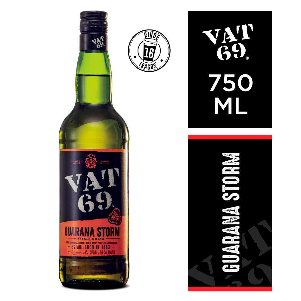 Whisky Vat 69 guarana storm x750cc