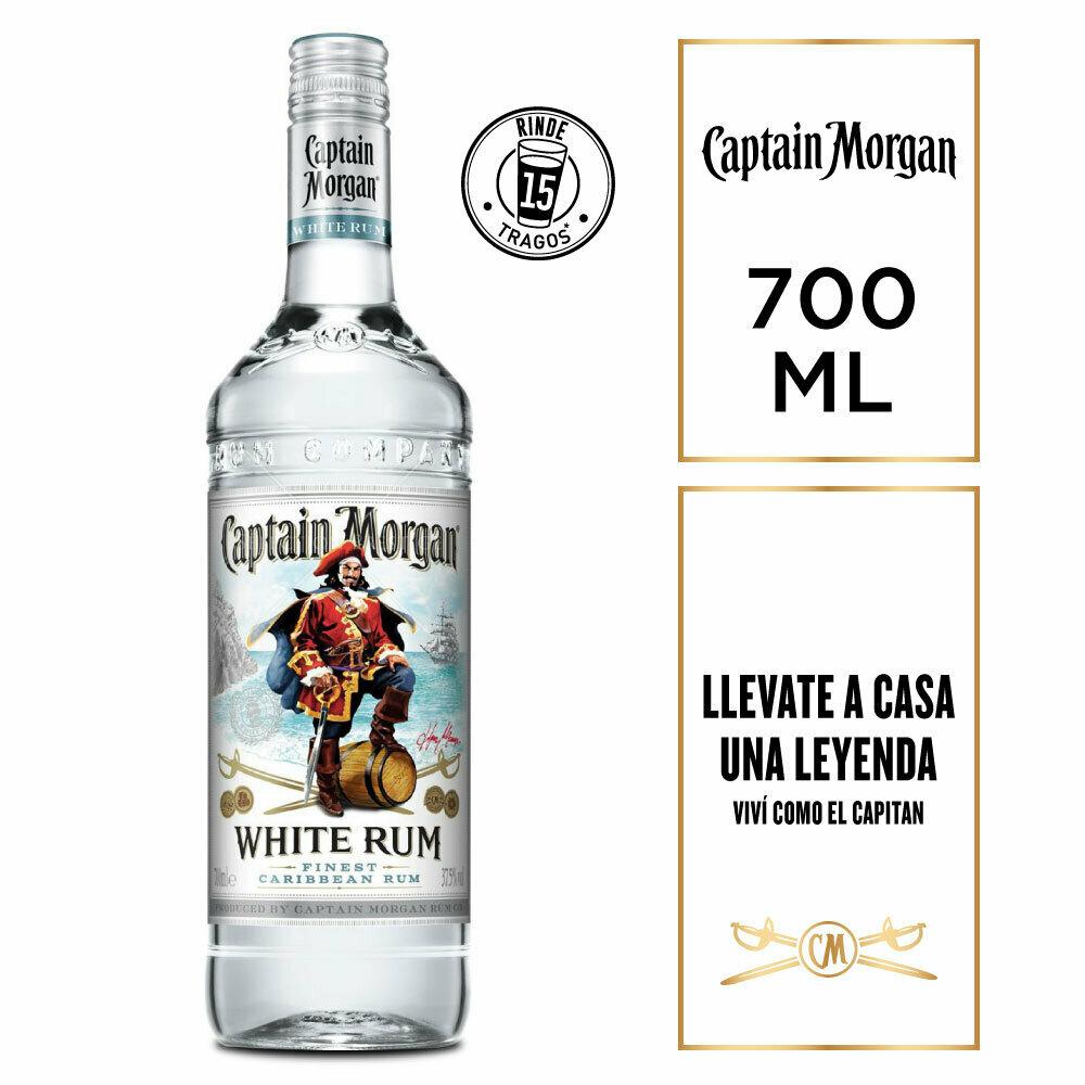 Ron capitan morgan white x700cc