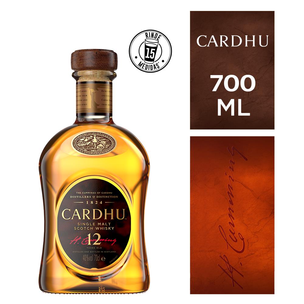 Whisky Cardhu 12 a x700 cc