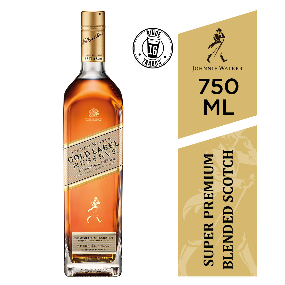 Whisky Johnnie walker gold label rereve. x750cc