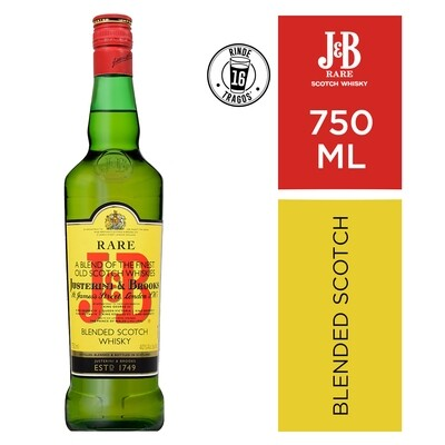 Whisky J & b rare yellow x750cc