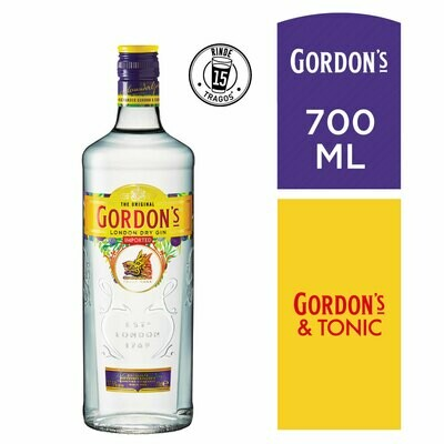 Gin gordons x700cc