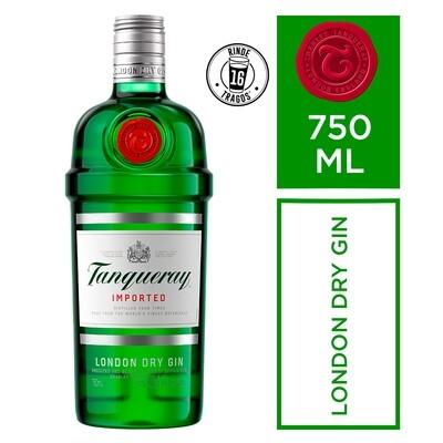 Gin tanqueray x750cc