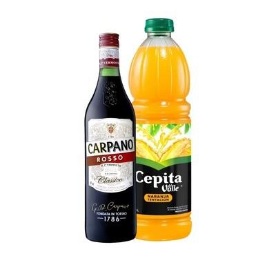 KIT 1 CARPANO + 1 CEPITA BOTELLA X1.5 LT